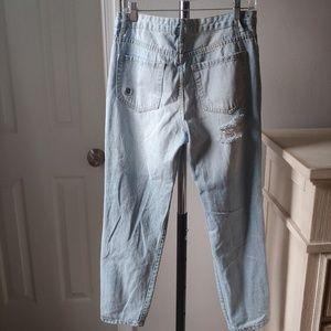 Forever 21 Jeans - Forever 21 distressed grommet jeans